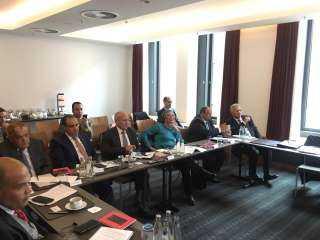 الوفد الوزاري المصري بألمانيا يبحث مع شركتين ألمانيتين سبل التعاون المشترك