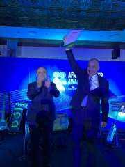شاهد .. ماجد على يشيد بـ طارق عامر بعد فوزه بجائزة أفضل محافظ بنك مركزى فى إفريقيا