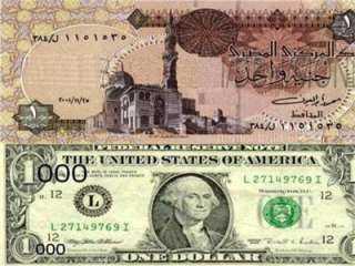الدولار ينخفض ٢٥ قرش أمام الجنيه المصري