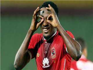 أجاي يسدد الهدف الثالث لصالح النادي الأهلي في مباراة القمة أمام الزمالك