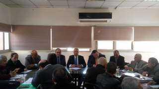 """""""الزراعة"""" تبحث استعدادات إطلاق الحملة القومية للنهوض للذرة الشامية"""