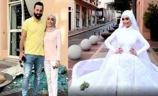 """فيديو..""""عروس بيروت"""" تعود إلى نقطة الانفجار وتروي تفاصيل اللحظات الأخيرة"""