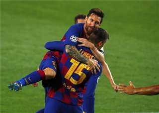 بالفيديو..برشلونة يتأهل الى ربع نهائي دوري الأبطال بالفوز على نابولي بثلاثية