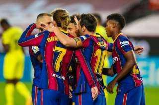 فيديو.. برشلونة يكتسح فياريال برباعية في انطلاق مشواره بالدوري الإسباني