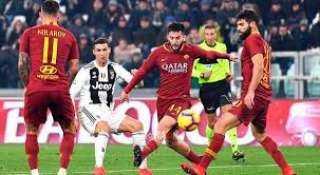 كريستيانو رونالدو ينقذ يوفنتوس من الهزيمة أمام روما