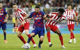 برشلونة يسقط أمام أتلتيكو مدريد بهدف في الليجا