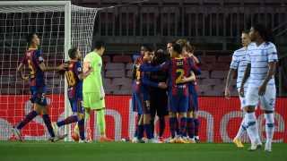 فيديو..برشلونة يقسو على دينامو كييف برباعية في دوري الأبطال