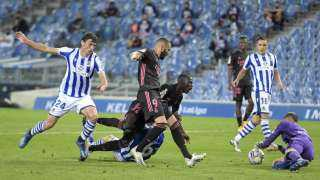 ريال مدريد يفرض التعادل على ريال سوسيداد في الوقت القاتل (فيديو)