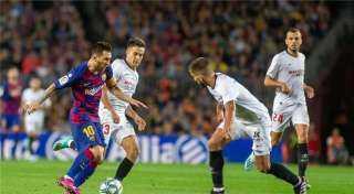 شاهد جنون ريمونتادا برشلونة على إشبيلية  في الوقت الضائع .. فيديو