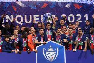 باريس سان جيرمان يتوج بكأس فرنسا بعد فوزه على موناكو