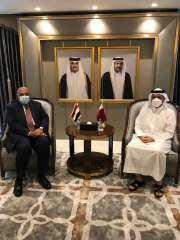 تفاصيل لقاء وزير الخارجية المصري بنظيره القطري