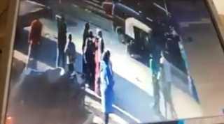 فيديو..لودر يدهس سيدة وطفلها في شبرا الخيمة